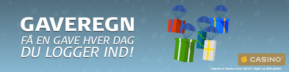 Ny omgang Danske Spil Casino Gaveregn