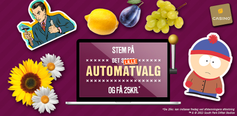 Få gratis bonus for at stemme på Automatvalg 2016