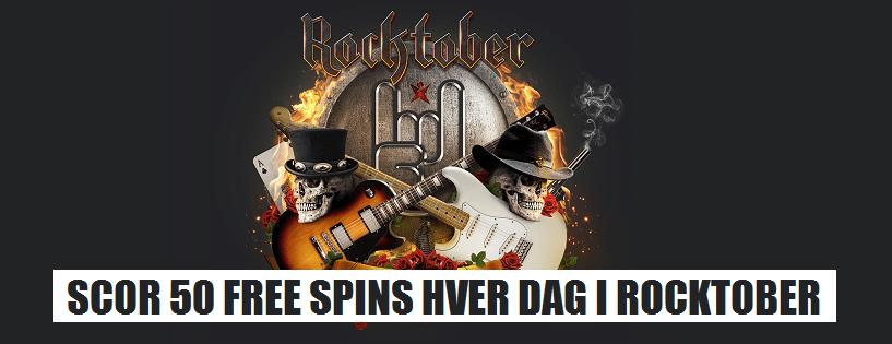 Oktober free spins på de bedste danske casinoer