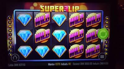 Super Flip spilleautomaten
