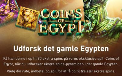 Tirsdags casino bonusser og gratis spins til ny spilleautomat