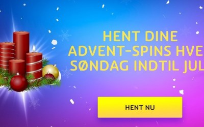 3. søndag i advent gratis spins og den bedste casino julekalender