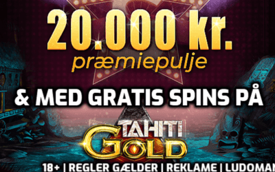 Gratis spins og casinotilbud til den 2. august 2019