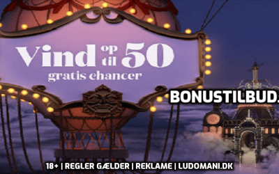 Gratis chancer til den 26. september 2019