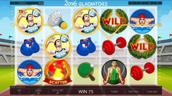 Игровой автомат 2016 Gladiators 🎰 от Endorphina ...