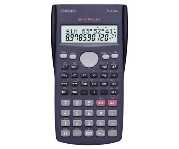 fx-82MS | Standard Non-Programmable Scientific calculators ...