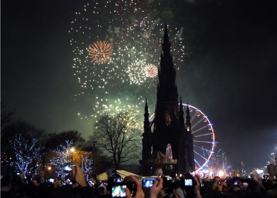 Spectacular Fireworks at the Bells