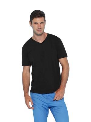 T-shirt collo a V