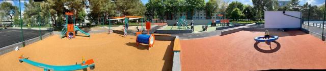 Rekonštrukcia detského ihriska na Albrechtovej ulici v Ružinove je dokončená