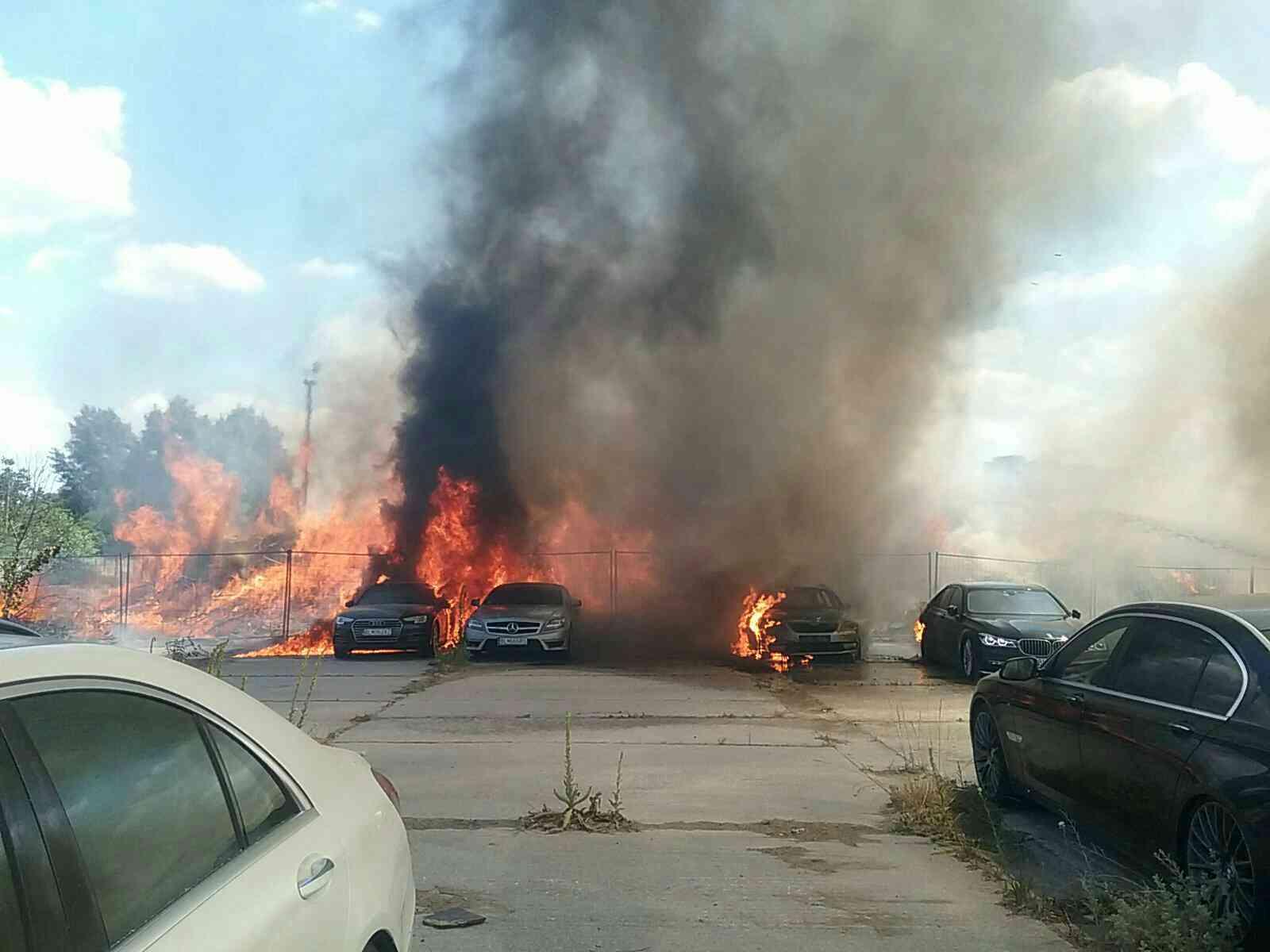 Požiar v Petržalke