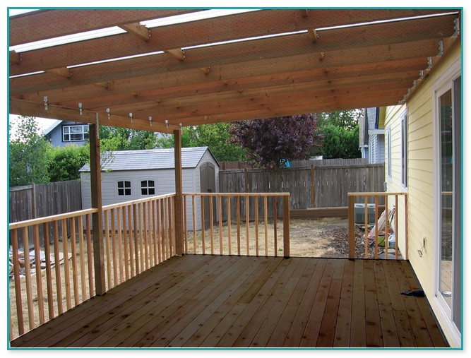 Building A Awning Over A Deck | Home Improvement on Deck Over Patio Ideas id=26609