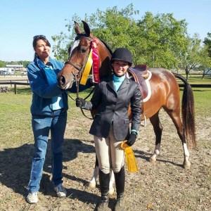trainers Lori Cooper and Gina Pengue