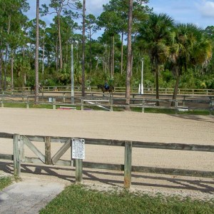 riding arenas at the farm