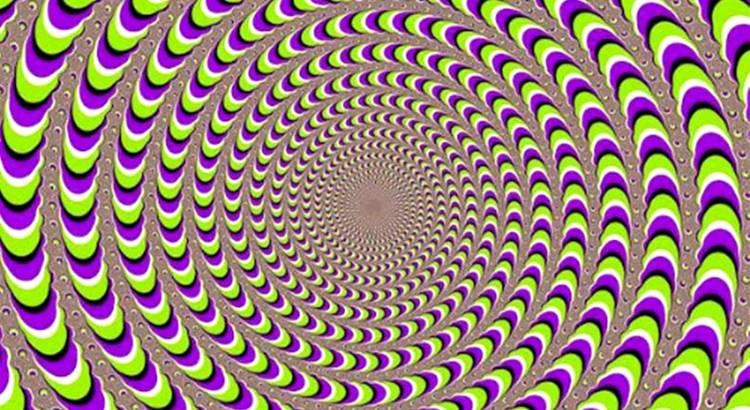 Turning Circles Illusion