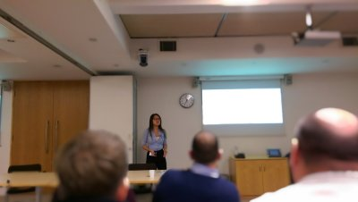 Cassandra speaking at SIGiST 2016