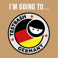 TestBash Germany Attending Badge