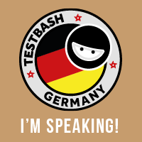 TestBash Germany speaker badge