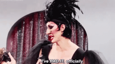 """Meme of Detox reads: """"I've HAD IT, officially."""""""