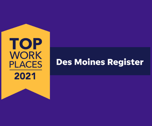 Photo of Top Workplaces 2021 by the DMR