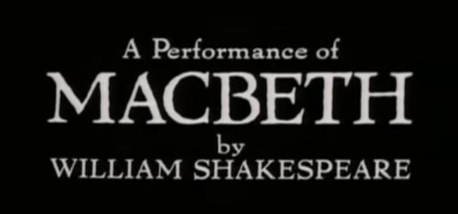 Royal Shakespeare Company | Macbeth (1978)