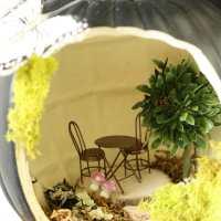 Fairy House & Bird Nest Pumpkins ( #TrickYourPumpkin)