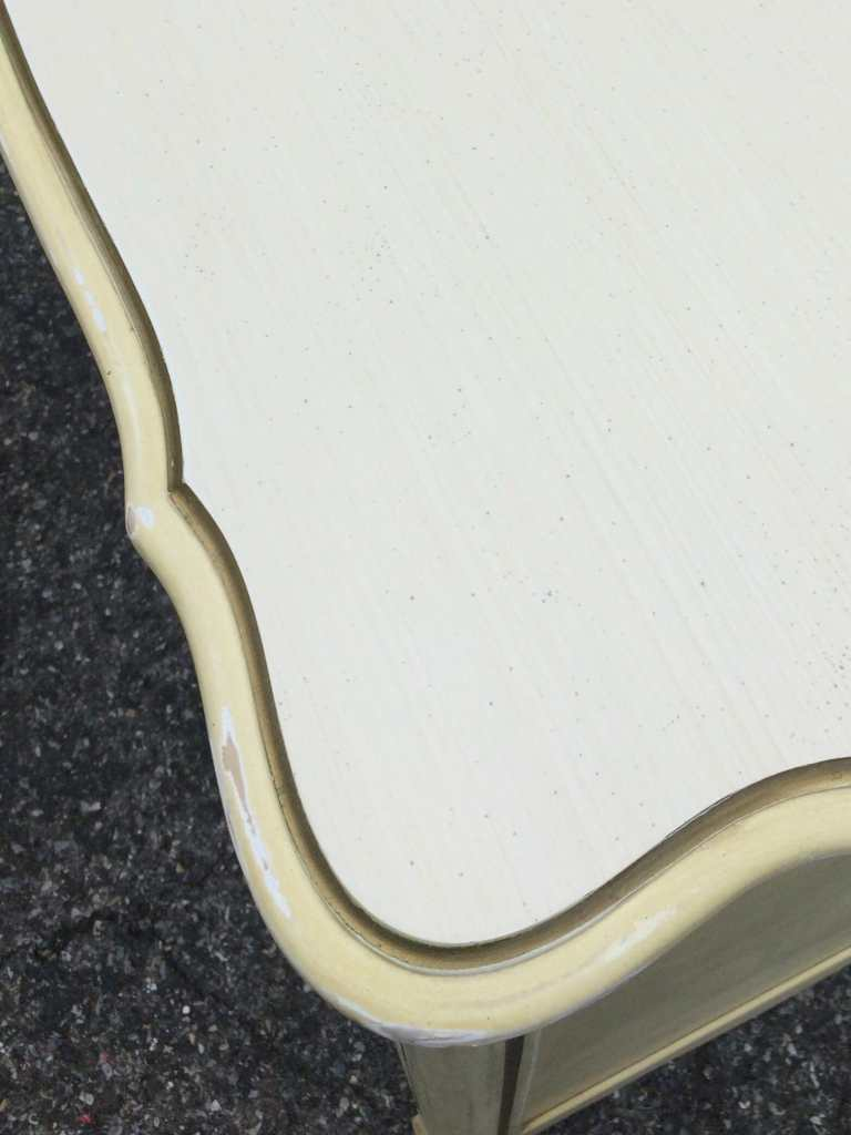 Laminate top post sanding- how to sand for paint