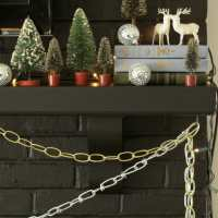 A Christmas Carol Inspired Mantle, Fireplace Maintenance & A