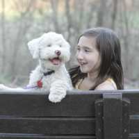 Emmy and Snowball