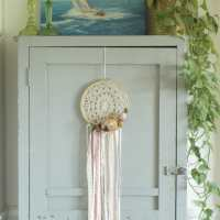 DIY Dried Peony Dreamcatchers