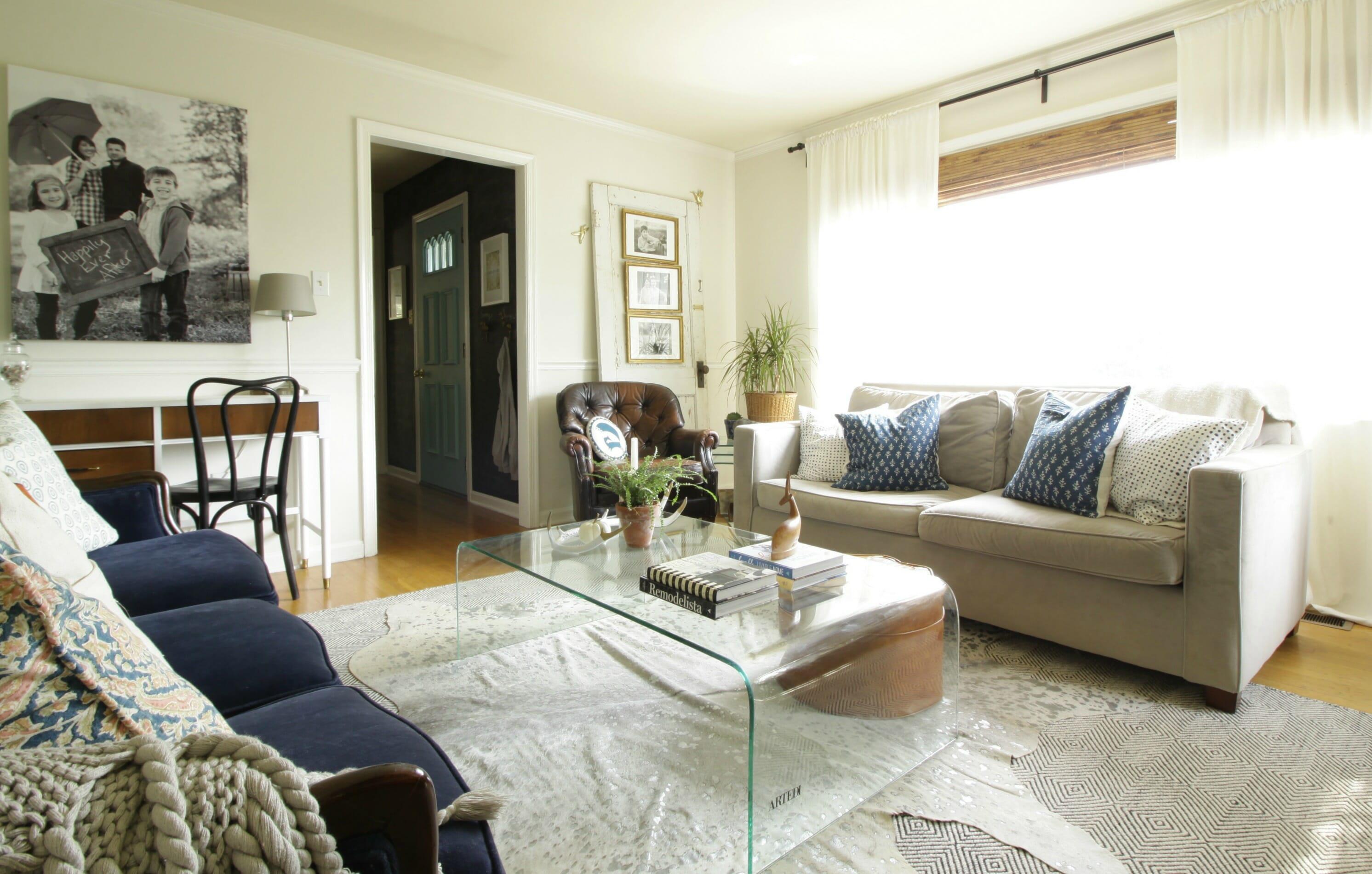 My Home Style Blog Hop: The Evolution of My Living Room ... on Modern Boho Room  id=26539