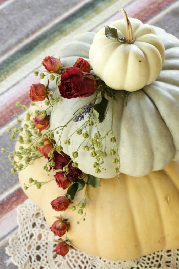 Natural Fall Centerpiece Display