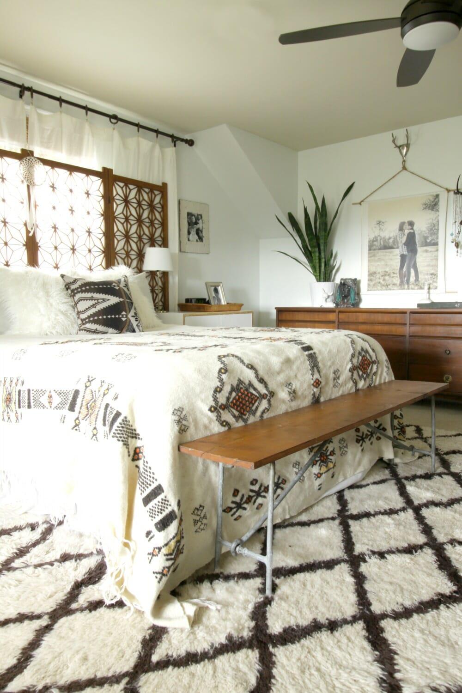 Thrift Score Thursday: Boho Bedding - Cassie Bustamante on Boho Modern Bedroom  id=17376