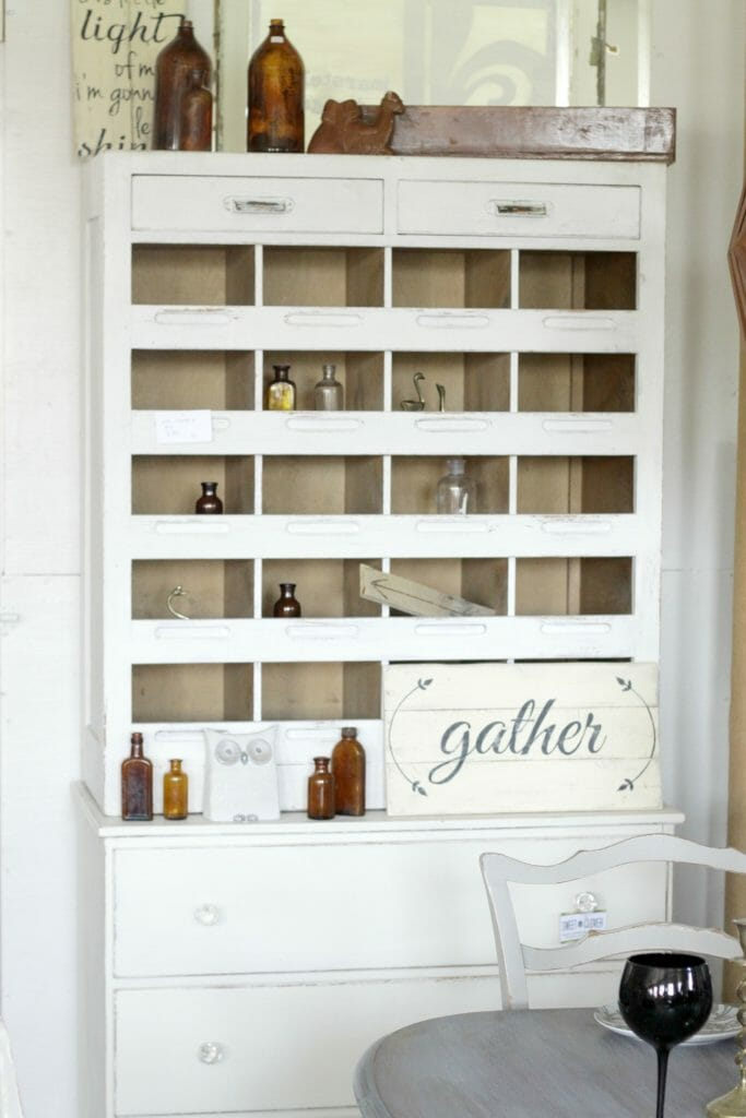 white-antique-industrial-cubby
