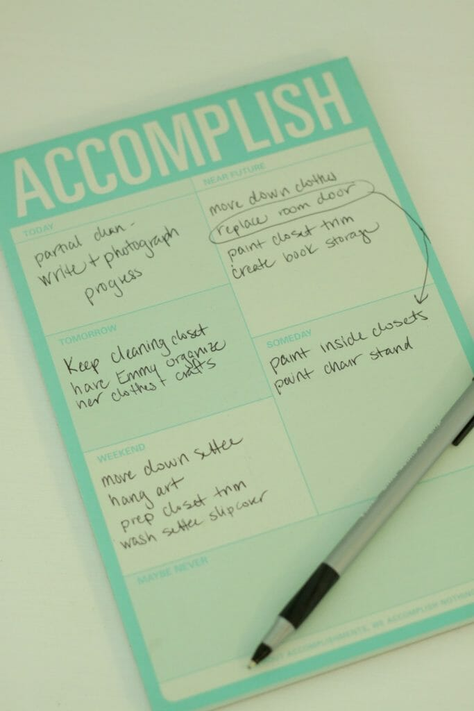 Accomplish Notepad