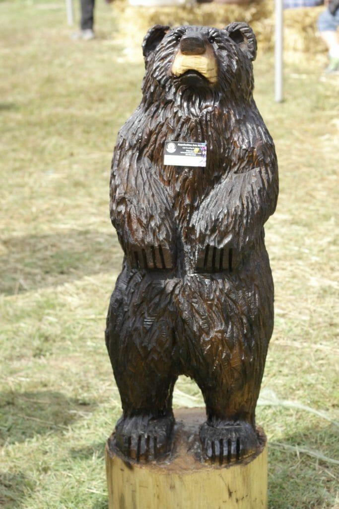 Apple Festival Bear