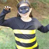 5 Minute DIY Bee Costume