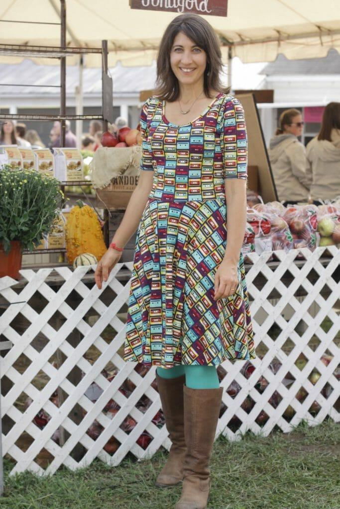 lularoe-nicole-cassette-dress