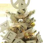 DIY Peace Sign Tree Topper