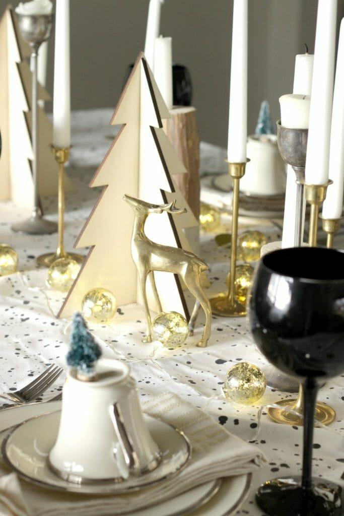 brass-deer-christmas-table