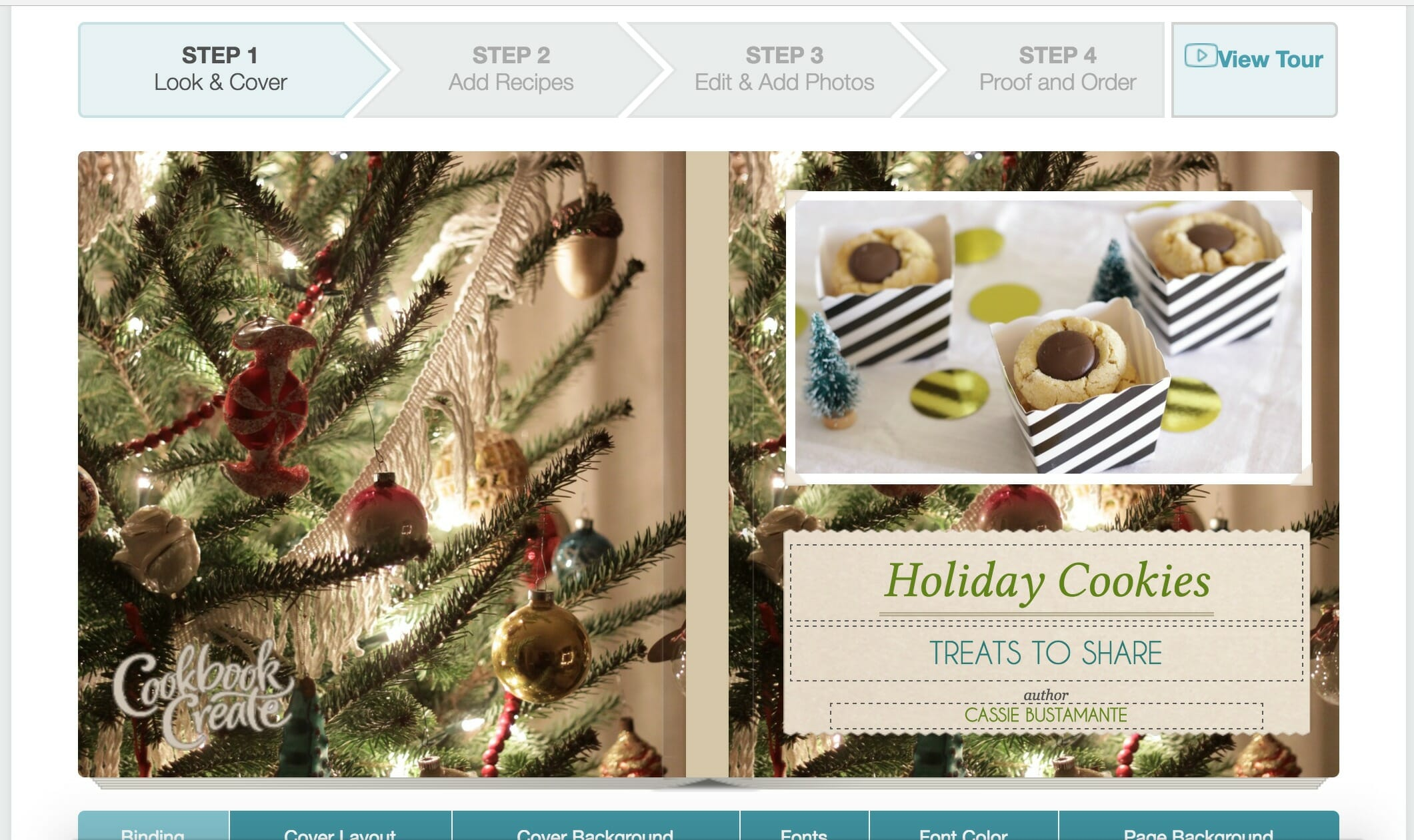 cookbook create cookie swap or family recipe collection gift idea