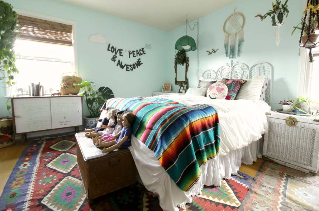 Eclectic Girl's Room
