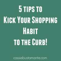 5 Tips to Kicking a Shopping Habit