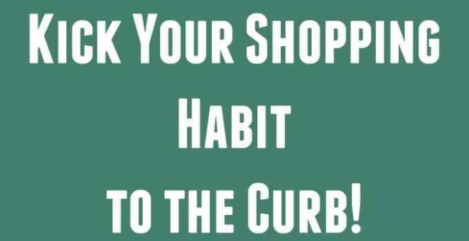 5 Tips to Kicking a Shopping Habit