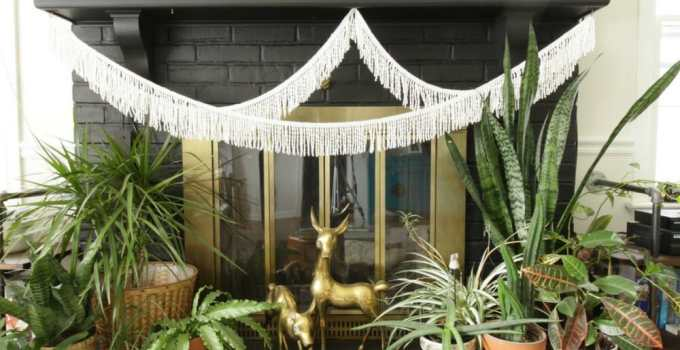 Plant Lover's Winter Mantle