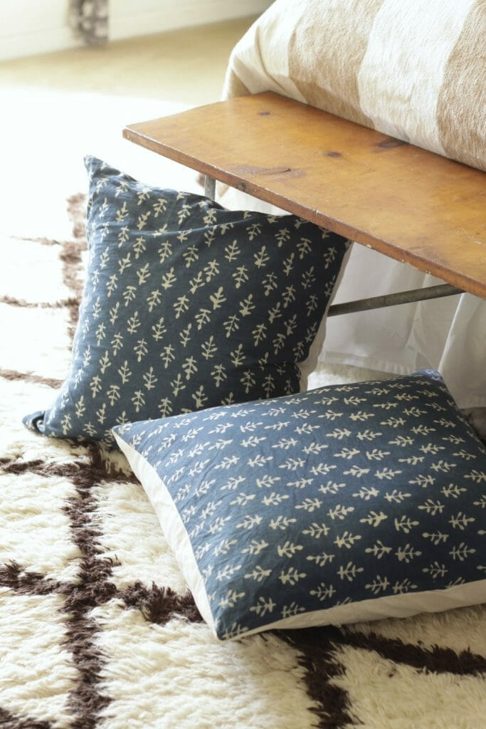 Block Print DIY Pillows