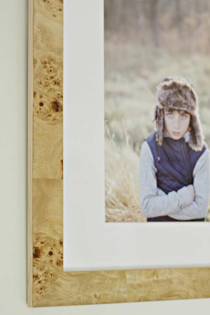 Framebridge Cairo Burl Wood Frame