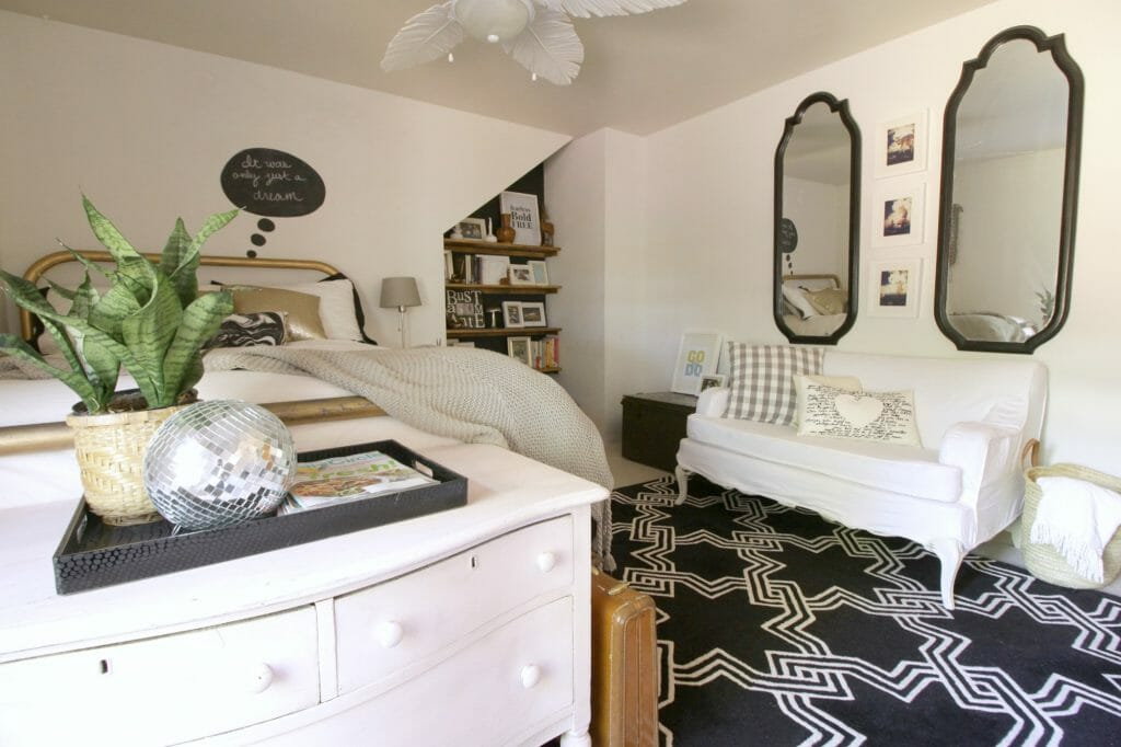 No Cost Bedroom Makeover Guest Room