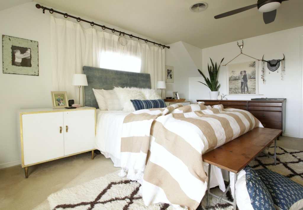 Eclectic Modern Boho Bedroom