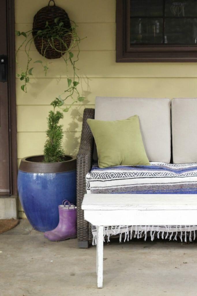 Bohemian Modern Spring Porch Seating