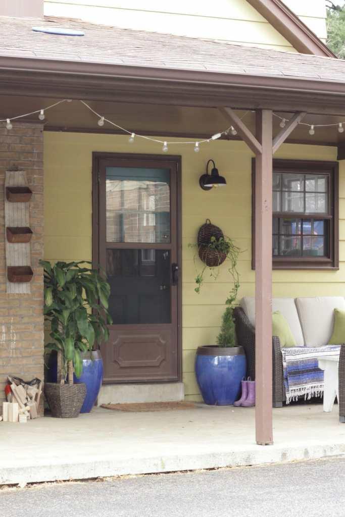 Bohemian Porch Entry at Spring